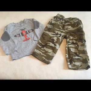 Boys 2 piece outfit